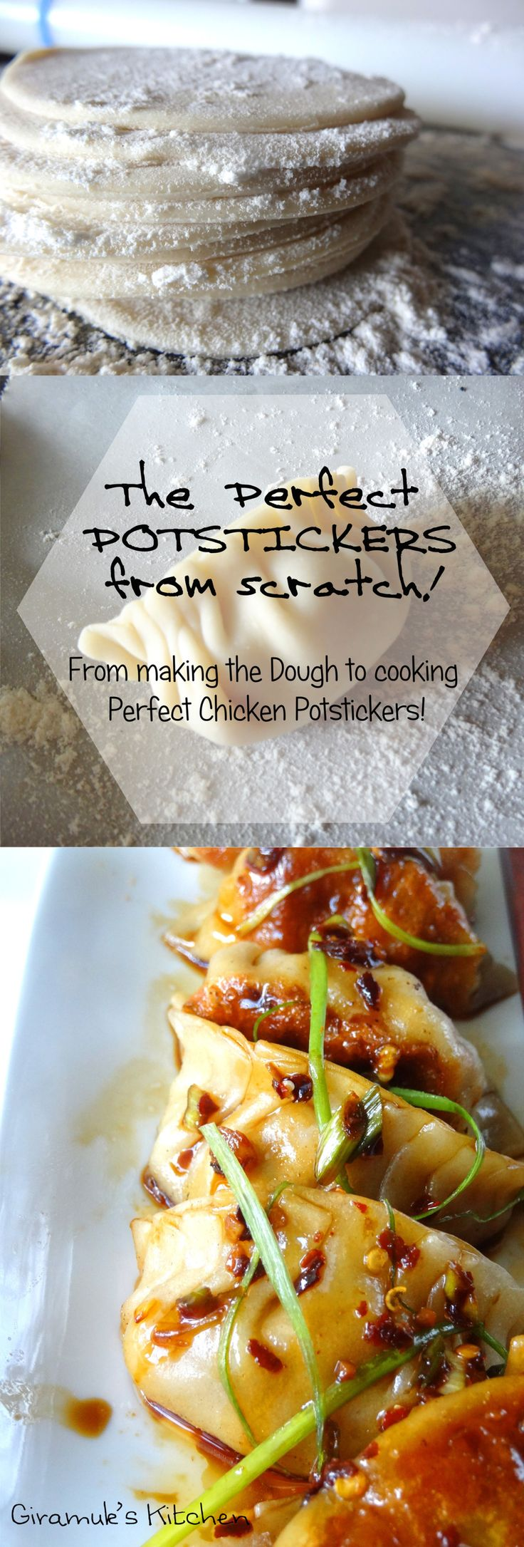 Perfect Potstickers from scratch
