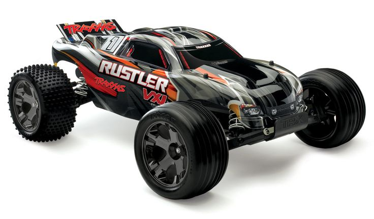 Traxxas Rustler VXL TSM Brushless model RTR