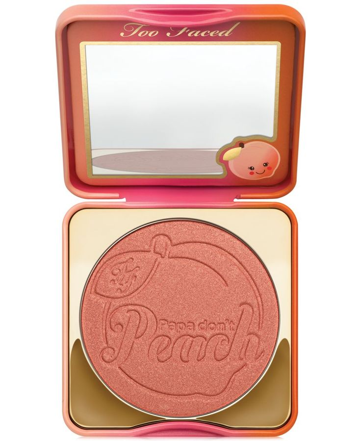 This burst of sweet peachy-bronze adds a fresh youthful radiance to cheeks for a summertime warmth. | Infused with the skin-loving essence of peach | Smells like peaches | Rich, pigmented shade provid
