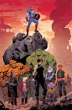 (W) Mark Waid (A/CA) Chris Samnee<p>OUT OF TIME CONCLUSION! Cap is finally 'OUT OF TIME'! • Frozen in time, awakened in a decimated future and once again a man out of his era, there is only one way for Steve Rogers to restore order and rebuild civilization-and that's to rule it as King Captain America! No dream, no hoax, no lie, this IS Cap and this IS happening, believe it or not! • PLUS: Mark Waid delivers an untold tale from Captain America's past, featuring the...