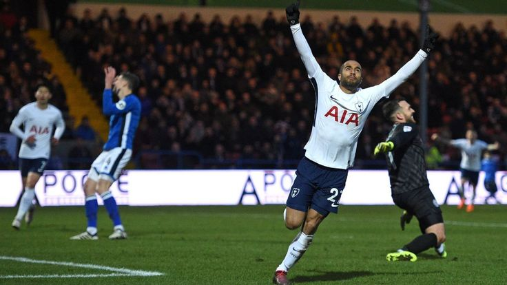 Lucas shines on full debut, but replay in order after Spurs draw at Rochdale