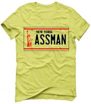 NEW YORK ASSMAN Koszulka Tshirt Bluza Męska Damska