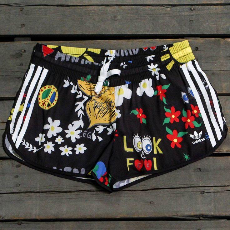 Adidas x Pharrell Williams Women Artist Running Shorts (black)