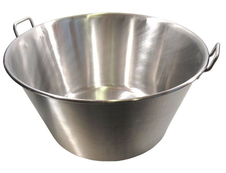 Extra Large Stainless Steel Caso Cazo para Carnitas Gas Heavy Stove XL Wok NEW #MDSCuisineCookwares