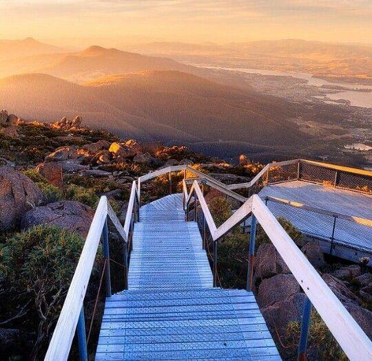 Tazmania, australia,stairs, beauty, hiking, Taz, view, beauty, photography.