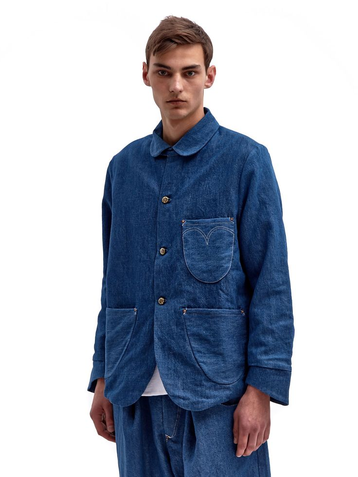 Levi's Red Men's Soft Sack A-lined Denim Jacket @LN-CC