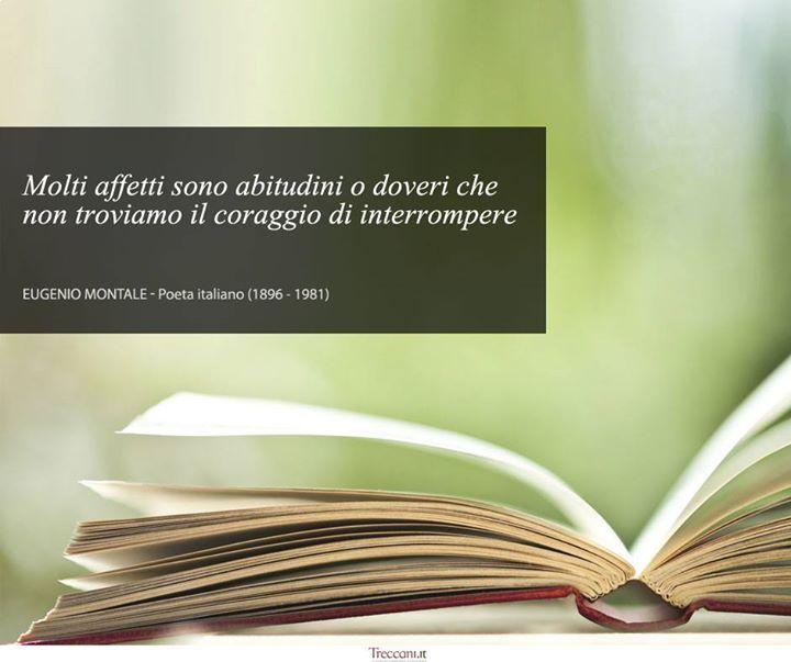 Eugenio Montale - www.treccani.it