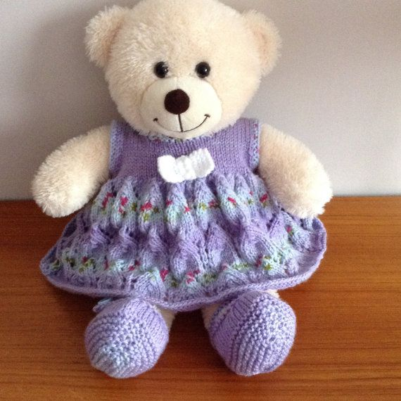 Knitting Pattern For Teddy Bear Clothes : 1000+ images about knitted teddy clothes on Pinterest Sweater patterns, Bea...