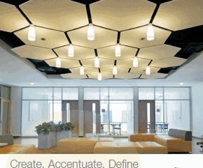 Armstrong SoundScapes® Shapes Acoustical Clouds