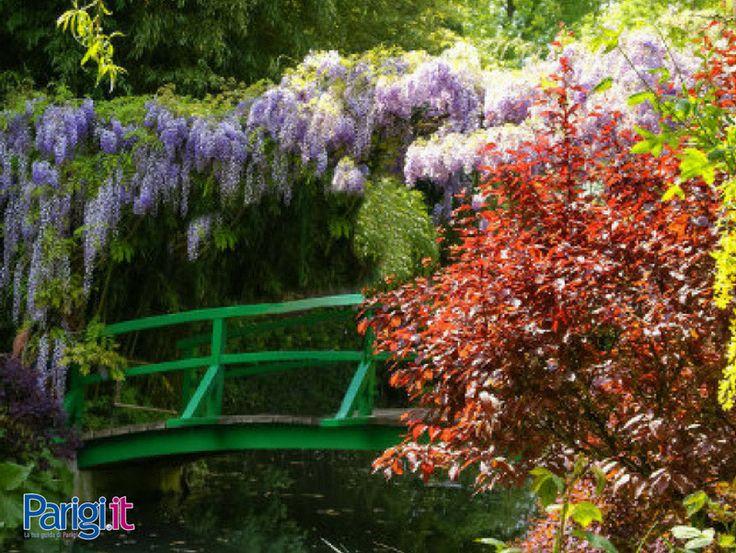 Giverny vicino Parigi, famosa in tutto il mondo per i dipinti di Claude Monet. Come resistere a questi incredibili paesaggi?