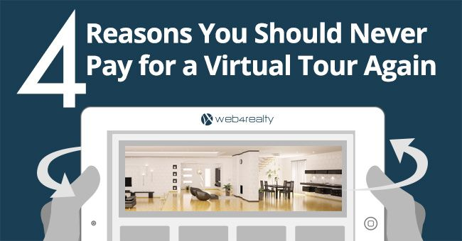 Join thousands of #REALTORS® in using Web4Realty's Free Virtual Tour Tool. https://www.web4realty.com/4-reasons-you-should-never-pay-for-a-virtual-tour-again/?utm_content=bufferca055&utm_medium=social&utm_source=pinterest.com&utm_campaign=buffer #RealEstateMarketing
