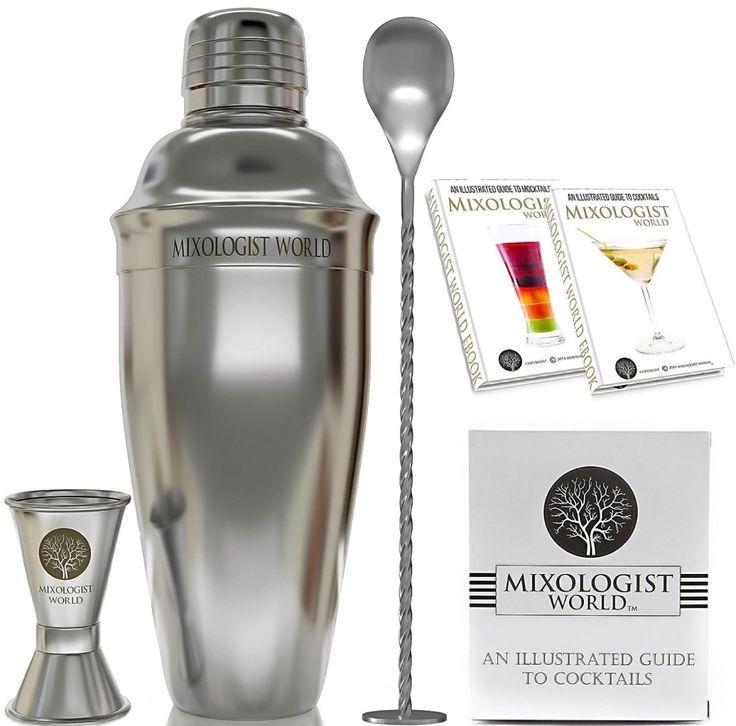Amazon Deal - Mixologist World Cocktail Shaker Set Only $16.67