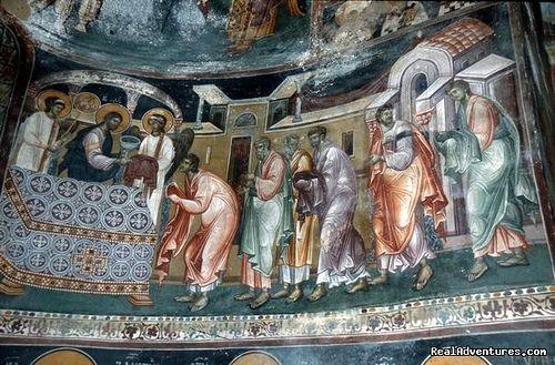 Studenica Monastery Fresco, Serbia by monkette23, via Flickr