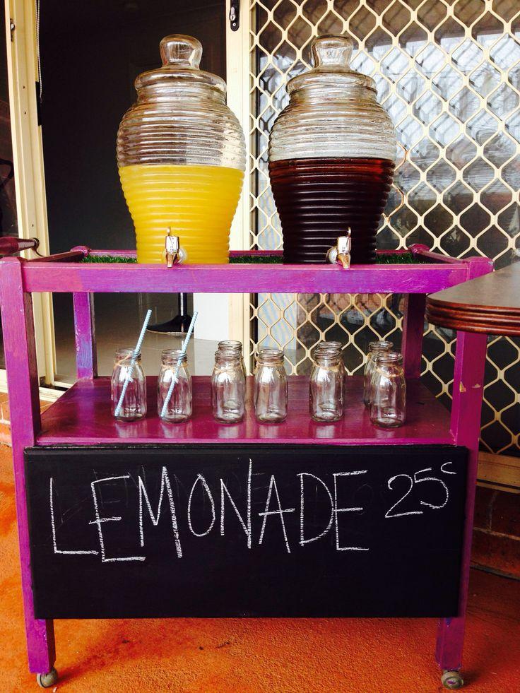 Biggest Morning Tea-lemonade stand