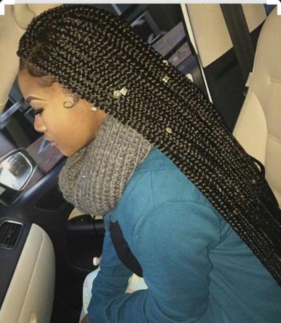 Box braids @GottaLoveDesss
