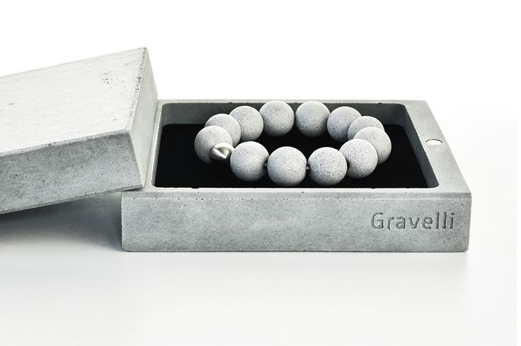 JEWELRY BOX package (made ​​of concrete) on Behance