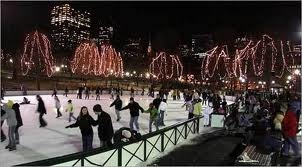 Ice Skating at Frog Pond on Boston Common
