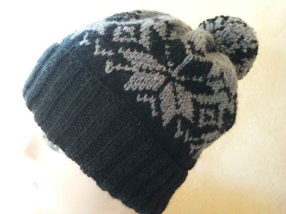 Knit hat Unisex beanie Knit women hat Knitted unisex hat