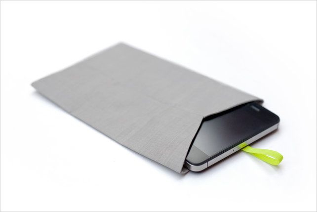 2 | This Pouch Ensures You Pay Attention To Your Date, Not Your Phone | Co.Design: business + innovation + design