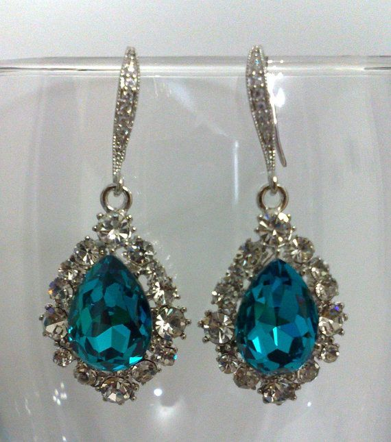 Hey, I found this really awesome Etsy listing at http://www.etsy.com/listing/90352693/aqua-blue-bridal-earrings-something-blue