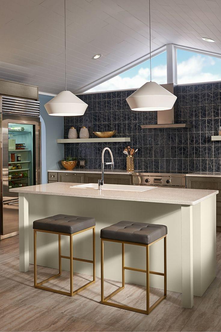 lighting ideas kitchen. Shown In This Modern Kitchen, The Brummel Grande Pendant Light By Tech Lighting Has Clean Ideas Kitchen