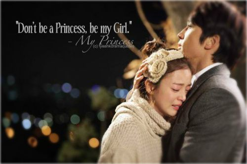 My Princess. I LOVE this kdrama it is my 2nd favorite one.
