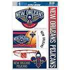 "For Sale - NEW ORLEANS PELICANS CORNHOLE BOARDS 11""X17"" ULTRA DECALS NEW FREE SHIPPING"