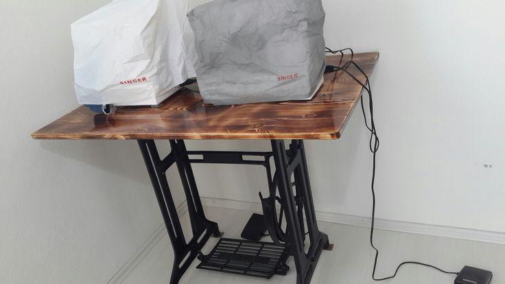 Dikiş masası antika masa