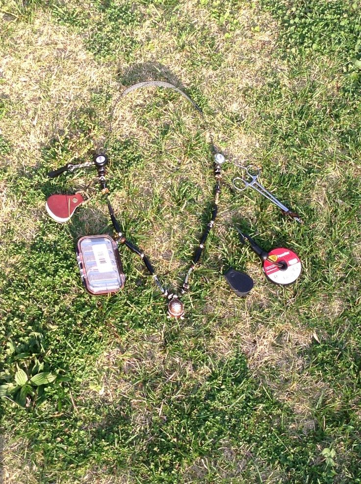 Homemade fly fishing lanyard fly fishing pinterest for Diy fly fishing