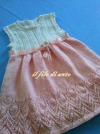 Abitino/vestitino bimba in cotone