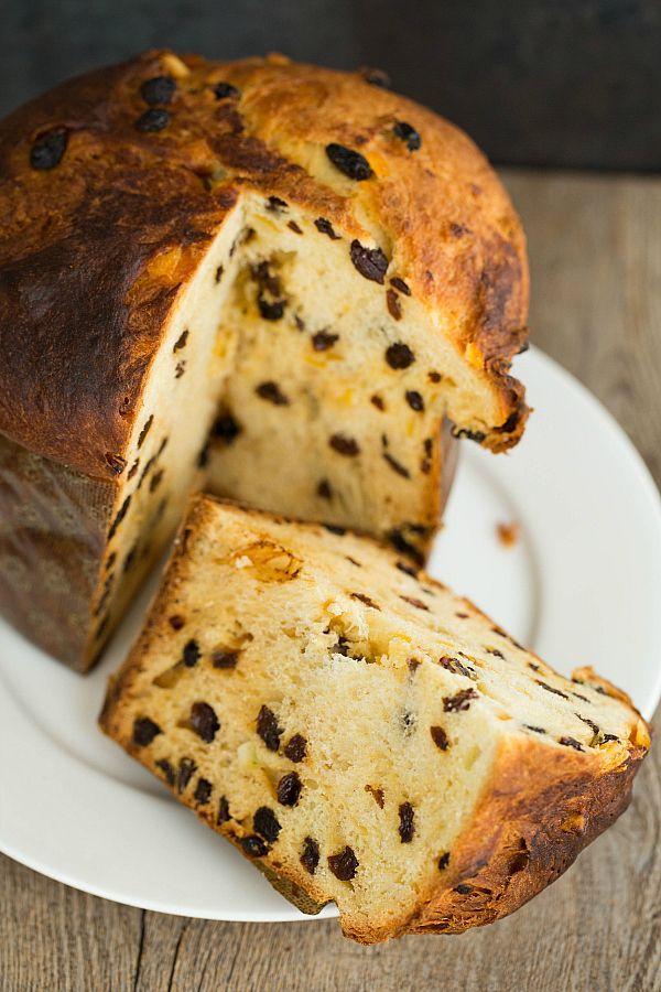 Panettone [Italian Christmas Bread] by @Michelle (Brown Eyed Baker) :: www.browneyedbaker.com