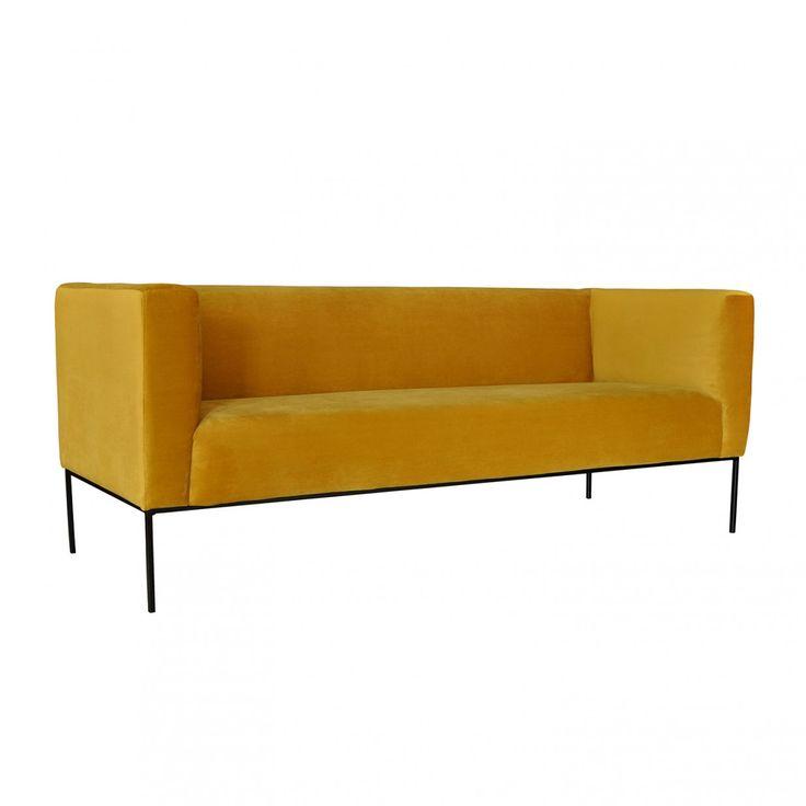 die besten 25 sofa gelb ideen auf pinterest gelbe wohnzimmer sofas gelbes wohnzimmer und. Black Bedroom Furniture Sets. Home Design Ideas