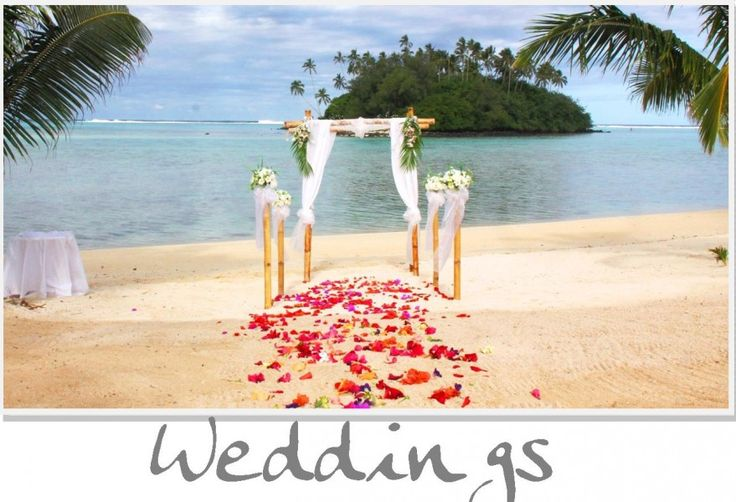 Petal Aisle at Nautilus Resort. Newest 4.5 star resort in the Cook islands. Check our website for Wedding package details