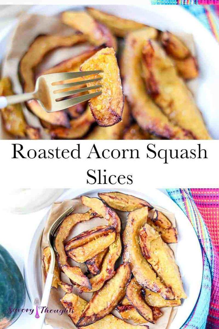 Air Fryer Roasted Acorn Squash Recipe Acorn squash