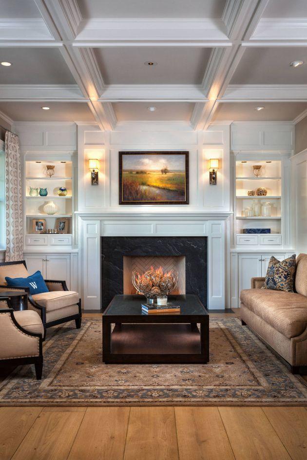 Inspiration For A Timeless Formal Medium Tone Wood Floor Living