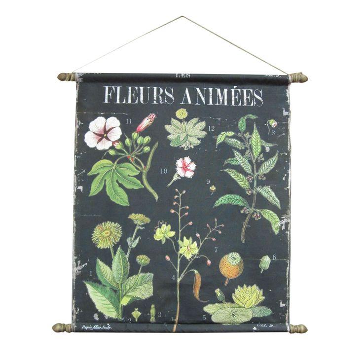 Fleurs Botanical Chart: Free Ships, Wall Decor, Decor Products, Wall Hanging, Botanical Wall, White Fleur, Buy White, Botanical Charts, Fleur Botanical