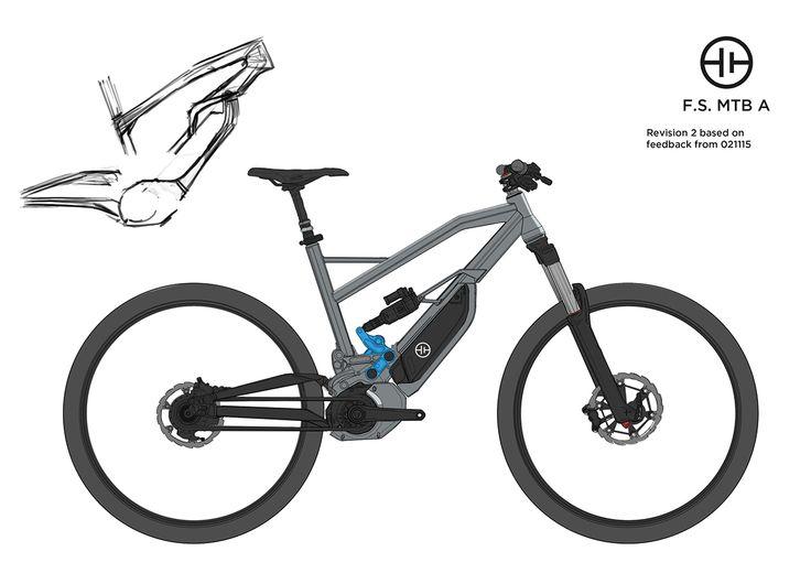 HNF-Heisenberg E-Bike Concept on Behance
