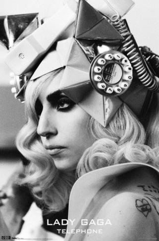 Lady Gaga - Telephone Poster