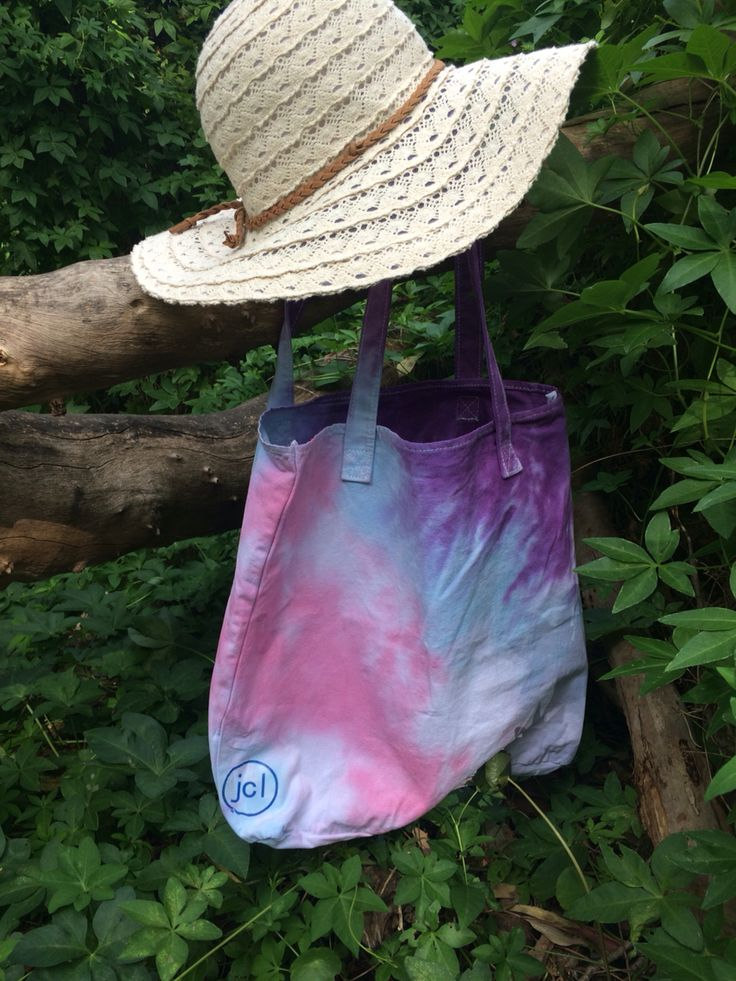 Grab a tie dye bag and head down to the beach in style