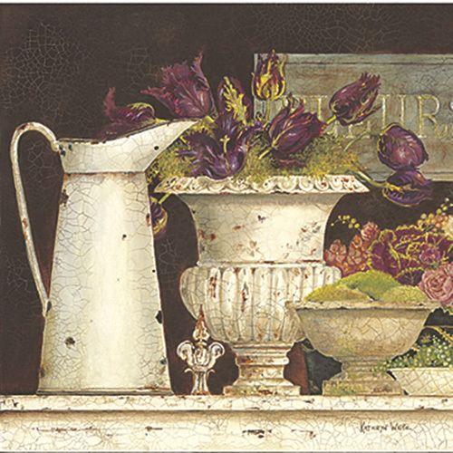 Fleurs de Paris (large) by Kathryn White