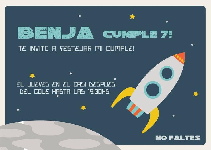 Benja al Espacio!!