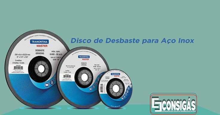 #consigaspecas - Disco de Desbaste para Aço Inox, você encontra na www.consigaspecas.com.br