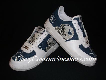 sale retailer 0f69e b1beb ... dallas cowboys dallas cowboys custom shoes nike air force 1 blazer vans  .