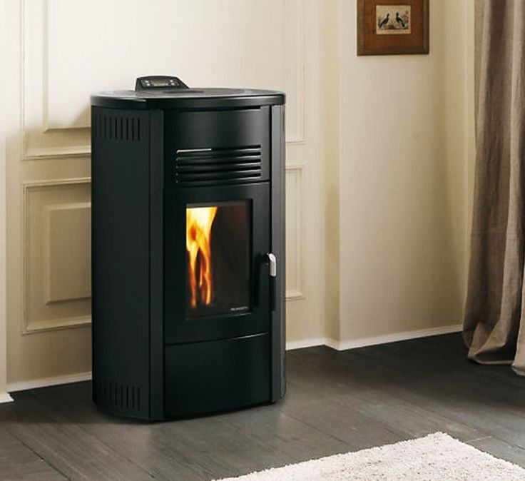 Palazzetti Carlotta wood pellet stove. For more information: http://www.nutechrenewables.com/carlotta-7-9-12-kw-wood-pellet-stove-palazzetti-ecofire-aria-range/