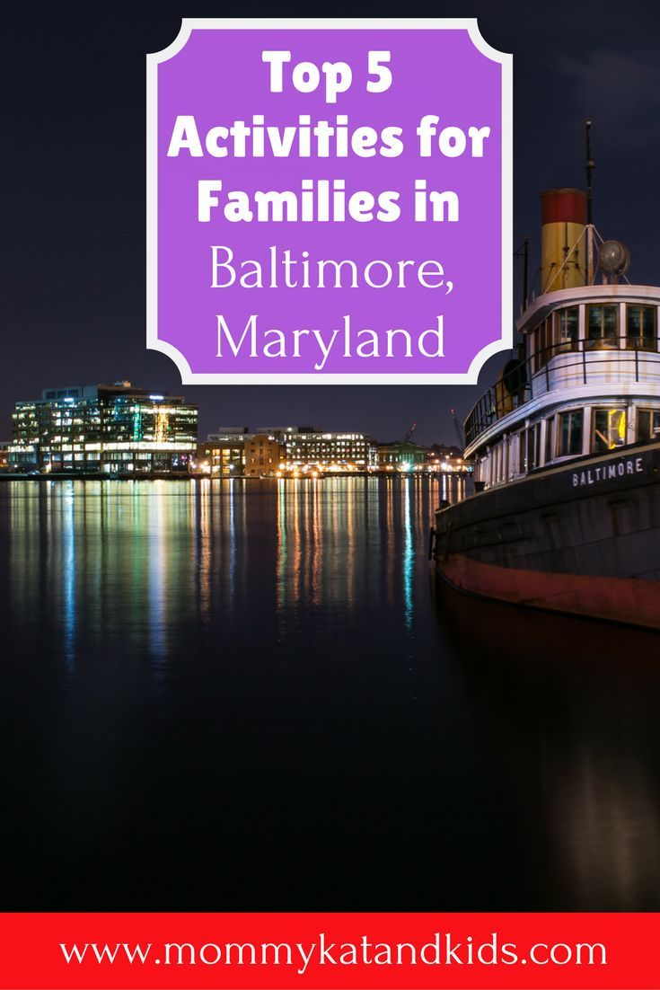 There are so many family activities in Baltimore, Maryland but we narrowed it down to our top 5. Our top 5 things to do in Baltimore Maryland, mixes education and fun to create the perfect itinerary for parents and children alike. Go check it out and make sure you save it to your travel board to help plan your trip.