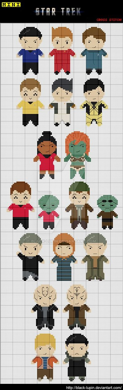 Update 20th July 2014: George Takei just posted a picture of a cross-stitched Picard on his Facebook page. www.facebook.com/georgehtakei/… Life goal complete. Update 30th May: wyntreaurora r...