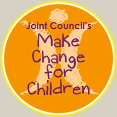 repin our logo to help spread the word and Make [even more] Change for Children!