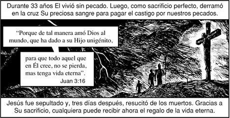 """Veremos a continuación 5 historias Cristianas expuestas en forma de Comics.     La intención de estas imágenes es obviamente el """"conve..."""
