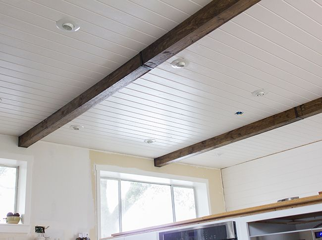 Diy Wood Box Beams: 1000+ Images About Ceiling Beams On Pinterest