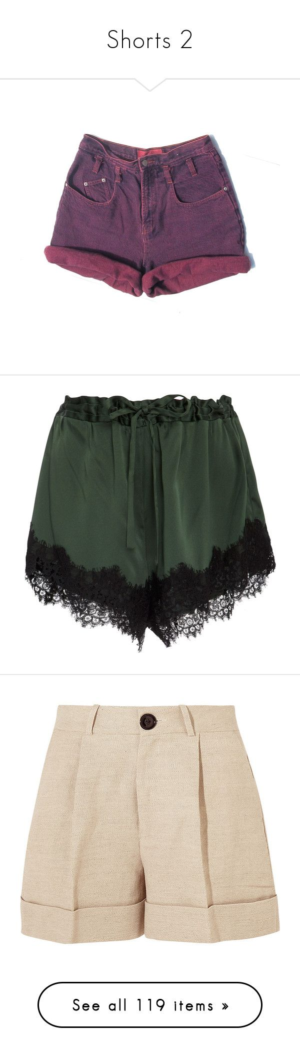 """""""Shorts 2"""" by x-star-dust-x ❤ liked on Polyvore featuring shorts, bottoms, pajamas, suit, green, macgraw, short, pants, beige and beige shorts"""